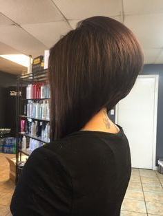 Extreme Swing Bob – Google Search …   Bob Hairstyles Intended For Cool Toned Angled Bob Hairstyles (View 4 of 25)