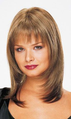 Face Framing Layers Bangs | Haircuts For Medium Hair Pertaining To Choppy Layers Hairstyles With Face Framing (View 3 of 25)