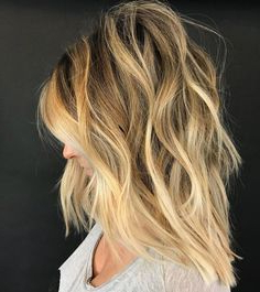 Fall Color Trend: 68 Warm Balayage Looks – Behindthechair With Regard To Warm Balayage On Short Angled Haircuts (View 18 of 25)