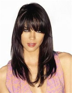 Fringe Face Framing With Lob Hairstyles With Face Framing Layers (View 3 of 25)