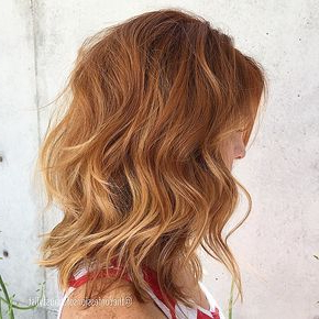 Ginger Balayage … | Natural Red Hair, Balayage Hair In Pixie Hairstyles With Red And Blonde Balayage (View 8 of 25)
