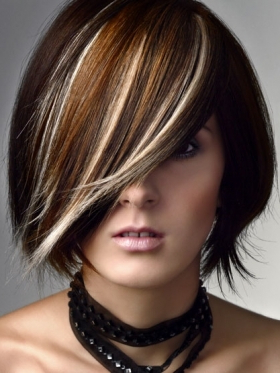 Glitter Grounds: Bold Haircolor Ideas For The New Year Within Short Hairstyles With Delicious Brown Coloring (View 8 of 25)