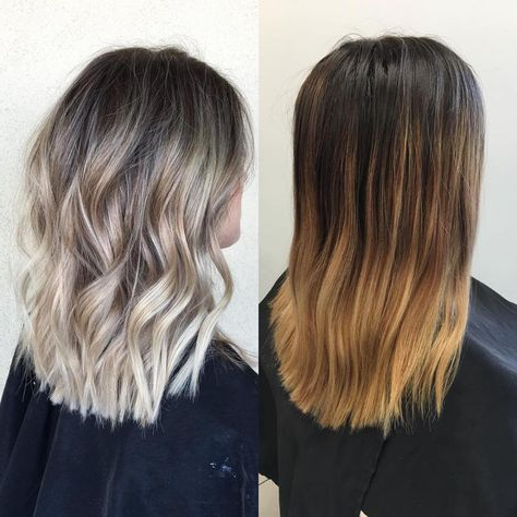 Featured Photo of Blonde Balayage Hairstyles