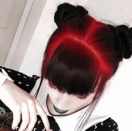 Hair Balayage Black Red 48 Ideas | Hair Styles, Cool Hair Intended For Bright Red Balayage On Short Hairstyles (View 22 of 25)