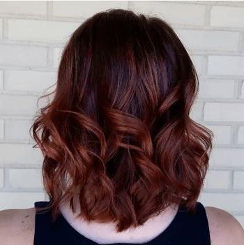 Hair Brown Auburn   Auburn Balayage, Short Hair Balayage Within Brown Blonde Balayage Hairstyles (View 5 of 25)