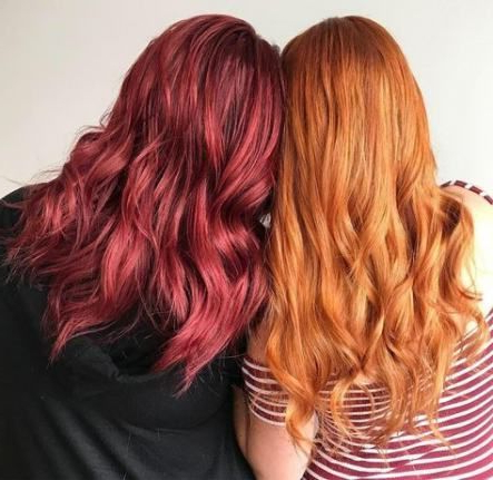 Hair Color Dark Copper Strawberry Blonde 17 Ideas | Aveda For Strawberry Blonde Balayage Hairstyles (View 4 of 25)