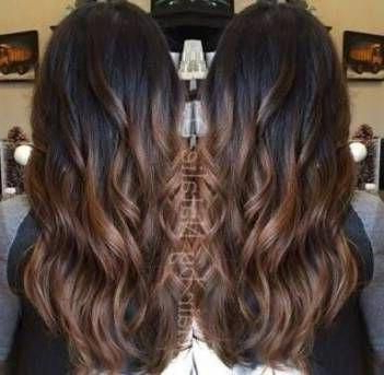 Hair Highlights For Indian Skin Tone Dark Brown 56 Best Intended For Black Hairstyles With Brown Highlights (View 13 of 25)