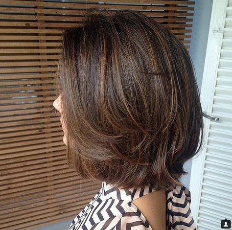 Hair Medium Length Balayage Subtle Highlights 35 Ideas With Regard To Chestnut Short Hairstyles With Subtle Highlights (View 13 of 25)