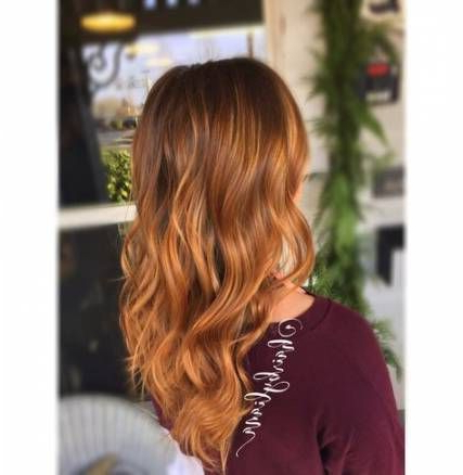 Hair Red Brunette Blonde Balayage 51 Ideas | Blonde For Strawberry Blonde Balayage Hairstyles (View 25 of 25)