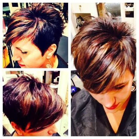 Hair Styles, Short Hair Styles, Sassy Hair Regarding Short Brown Hairstyles With Subtle Highlights (View 22 of 25)