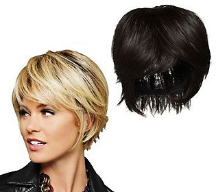 Hairdo Textured Fringe Bob Styled Wig – Qvc | Choppy Within Textured Haircuts With A Fringe And Face Framing (View 8 of 25)