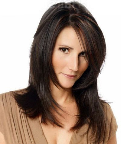Hairstyles For Medium Length Hair For Over 50 Women Regarding Blonde Longer Face Framing Layers Hairstyles (View 2 of 25)