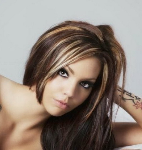 Hairstyles Highlights And Lowlights With Regard To Black Hairstyles With Brown Highlights (View 3 of 25)