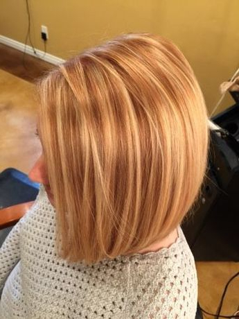 Hairtwist: Blonde Highlights On Natural Copper Hair Within Natural Brown Hairstyles With Barely There Red Highlights (View 13 of 25)