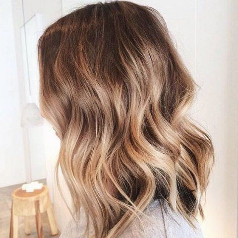 Highlights, Balayage, Ombre, Bronde, Babylights, Dip Dye Intended For Beachy Waves Hairstyles With Balayage Ombre (View 2 of 25)