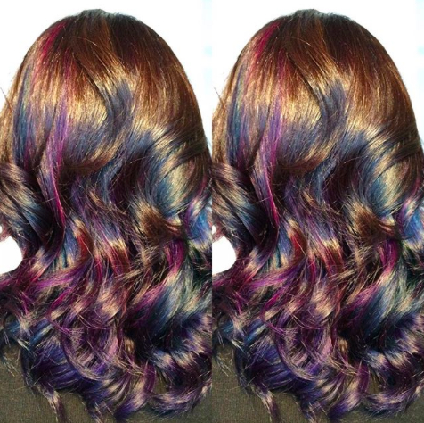 Hot Hair Trends: Colorful Hair (Aka Unicorn And Mermaid With Regard To Dimensional Dark Roots To Red Ends Balayage Hairstyles (View 25 of 25)