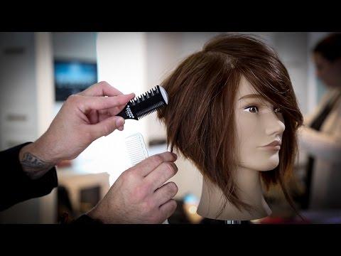 How To Cut A Stacked Bob Haircut Tutorial   Stacked Bob Intended For Graduated Bob Hairstyles With Face Framing Layers (View 13 of 25)