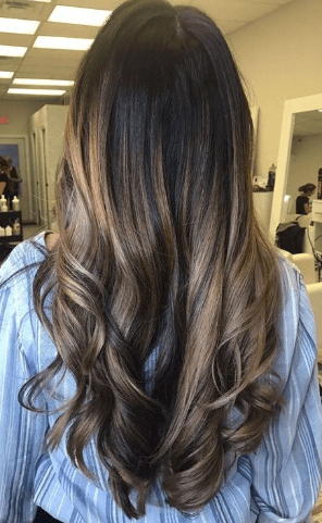 How To Get Caramel Highlights On Black Hair From Light To Inside Natural Looking Dark Blonde Balayage Hairstyles (View 3 of 25)