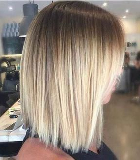 Ideas To Go Blonde – Warm Short Ombre Pertaining To Short Bob Hairstyles With Balayage Ombre (View 10 of 25)