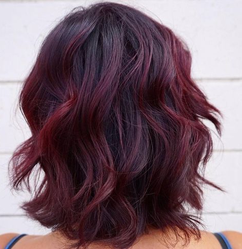 Image Result For Balayage With Henna | Hair Color Burgundy Throughout Burgundy Balayage On Dark Hairstyles (View 5 of 25)