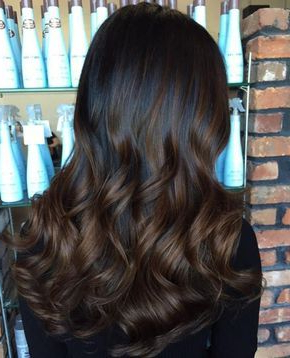 Image Result For Black Brown Hair With Chocolate Regarding Black Hairstyles With Brown Highlights (View 11 of 25)