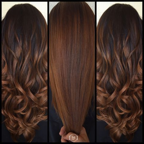 Image Result For Cinnamon Brown Hair Color   Hair Styles Within Cinnamon Balayage Bob Hairstyles (View 24 of 25)