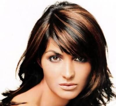 Featured Photo of Black Hairstyles With Brown Highlights