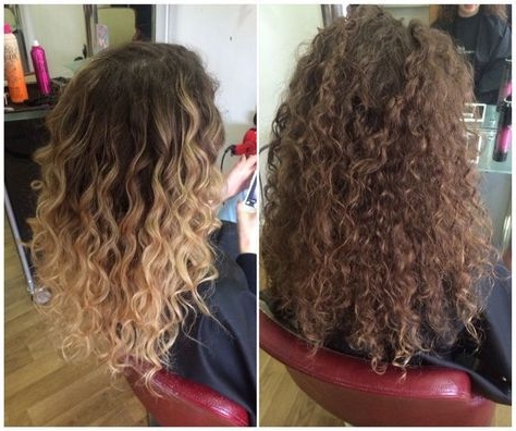 Image Result For Curly Balayage | Ombre Curly Hair, Hair Inside Beachy Waves Hairstyles With Balayage Ombre (View 24 of 25)