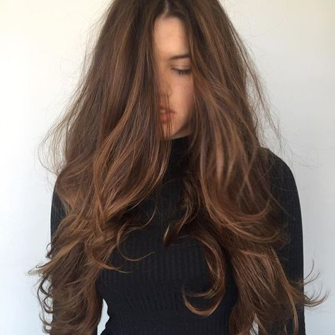 Image Result For Espresso Brown Hair With Cinnamon, Mocha In Cinnamon Balayage Bob Hairstyles (View 8 of 25)