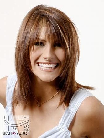 Image Result For Face Framing Layered Hairstyles | Framed In Lob Hairstyles With A Face Framing Fringe (View 3 of 25)
