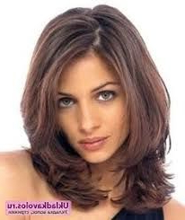 Image Result For Mid Length Face Framing Layers | Medium Pertaining To Blunt Bob Hairstyles With Face Framing Bangs (View 23 of 25)