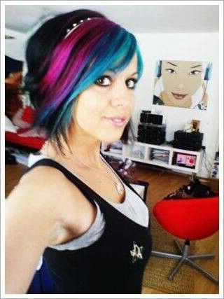 Inverted Bob, Swoop Bangs And Adorable Color   Hair Styles Intended For Cool Toned Angled Bob Hairstyles (View 22 of 25)