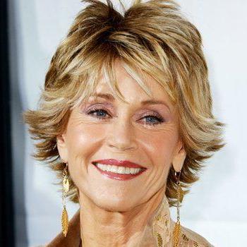 Jane Fonda'S Changing Looks | Jane Fonda Hairstyles, Jane With Regard To Short Sun Kissed Hairstyles (View 17 of 25)