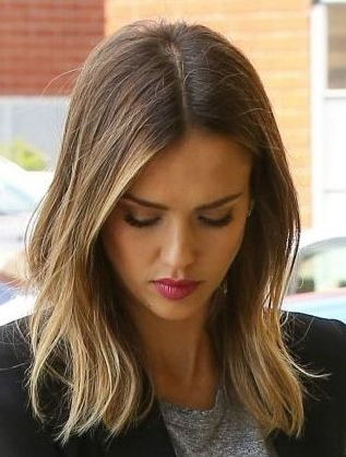 Jessica Alba (With Images) | Jessica Alba Hair, Hair Throughout Natural Looking Dark Blonde Balayage Hairstyles (View 18 of 25)