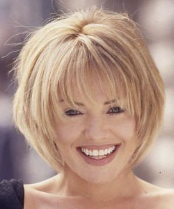 Layered Hair Styles Inside Full Fringe And Face Framing Layers Hairstyles (View 18 of 25)
