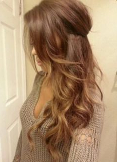 Light Brown Hair With Caramel Highlights (View 5 of 25)
