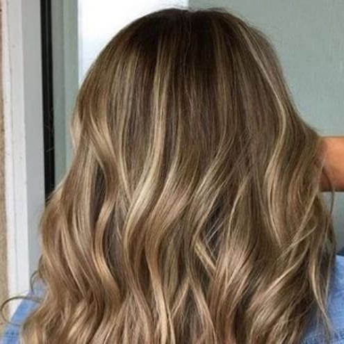 Light Up Your Brown Hair With These 55 Blonde Highlights Regarding Brown Blonde Sweeps Of Color Hairstyles (View 12 of 25)