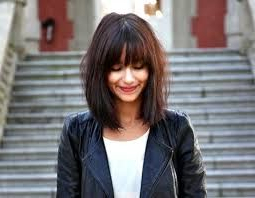 Long Bob With Bangs Round Face – Bpatello Intended For Lob Hairstyles With A Face Framing Fringe (View 18 of 25)