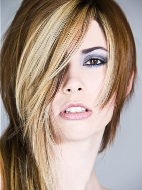 Long Choppy Layered Hairstyles With Chin Length Bangs And Face Framing Layers Hairstyles (View 3 of 25)