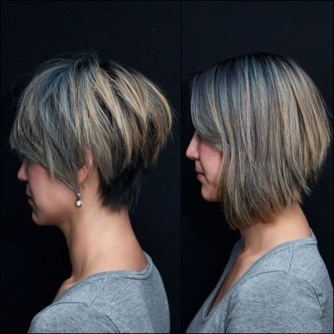 Long Choppy Pixie With Blonde Highlights | Thick Hair With Regard To Pixie Hairstyles With Red And Blonde Balayage (View 9 of 25)