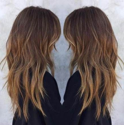 Long Layered Hair With Fringe Best Hairstyles 16+ Ideas In Pertaining To Textured Haircuts With A Fringe And Face Framing (View 23 of 25)