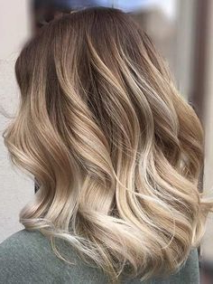 Loose Waves | Hair Styles, Balayage Hair, Hair Color Balayage With Warm Balayage On Short Angled Haircuts (View 9 of 25)