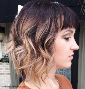 Medium, Beachy Waves With Ombre Highlights – 40 On Trend Inside Beachy Waves Hairstyles With Balayage Ombre (View 20 of 25)