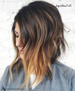 Medium, Beachy Waves With Ombre Highlights – 40 On Trend With Beachy Waves Hairstyles With Balayage Ombre (View 9 of 25)