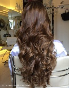 Medium Chestnut With Subtle Highlights – 40 Unique Ways To In Chestnut Short Hairstyles With Subtle Highlights (View 19 of 25)