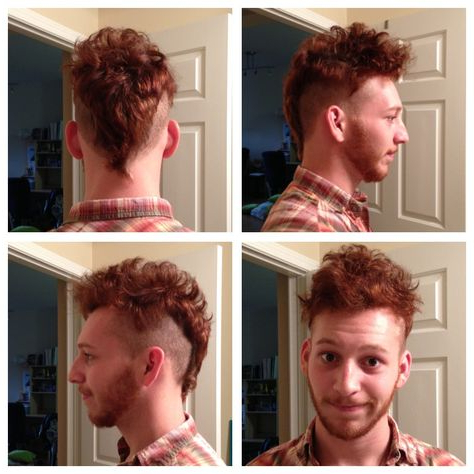 Men'S Hair Undercut Mohawk Tail (With Images)   Mens Intended For Newest Coral Mohawk Hairstyles With Undercut Design (View 7 of 25)