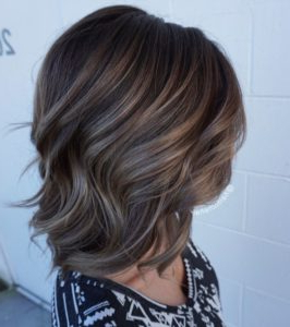 Mushroom Brown Hair Color Ideas And Looks Intended For Blonde Balayage Hairstyles On Short Hair (View 7 of 25)