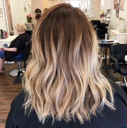 Nails Ombre Balayage 34 Ideas | Balayage, Ombre Hair Intended For Short Bob Hairstyles With Balayage Ombre (View 2 of 25)
