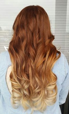 Natural Red To Brown Ombre – Google Search | Natural Red Regarding Natural Brown Hairstyles With Barely There Red Highlights (View 8 of 25)