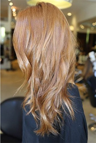 New Shades Of Strawberry Blonde Hair Color – Fashionist Now Regarding Brown Blonde Sweeps Of Color Hairstyles (View 20 of 25)